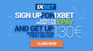 1xbet claim